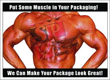 Custom Coffee Bags - Muscle in your coffee packaging bags