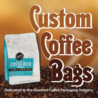 Custom Coffee Bags Blog Logo!